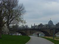 Augustusbrücke und Kunstakademie
