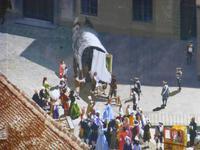 Panometer - Ankunft der Sixtinischen Madona