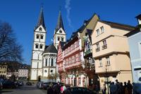 019 Boppard-St. Severiuskirche und Markthäuser