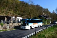 058 Vulkaneifel, Reisebusse im Brohltal