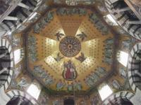 Die Kuppel des Aachener Oktogons