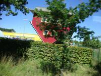 Das Haus auf dem Kopf bei Putbus