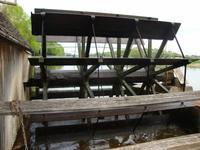 Wasserrad der Schiffmühle