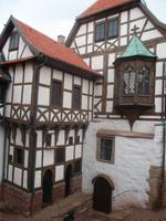 Lutherbau und Nürnberger Erker, Wartburg