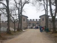 Eingang zum Kastell Saalburg