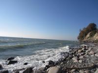Wanderung an der Steilküste