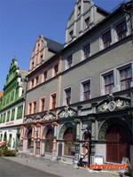 Renaissancehäuser am Weimarer Markt