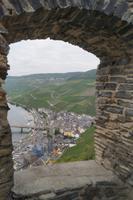 Blick von der Burg Landshut auf Bernkastel