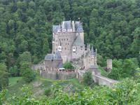 Blick zum Burg Eltz