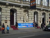 Das Theater schmückt Thalia, die Muse der Schauspielerei