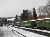 Bahnhof in Oberwiesenthal