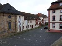 Blick zum Fuldaer Bischofspalast