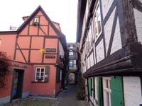 Im Quedlinburger Schuhhof