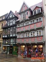 Schönes Fachwerk in Quedlinburg