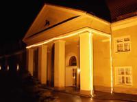 Eingang zum Chalet Ludwig