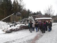 Führung in der Harzköhlerei