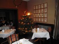 Unsere Restaurant war weihnachtlich