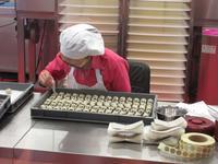 Pralinenherstellung