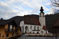 Galaschifffahrt auf der Donau - Pfarrkirche Engelhartszell