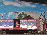 Weihnachtsmann an Bord.