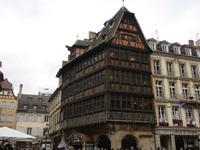 Das Haus Kammerzell am Münsterplatz in Straßburg