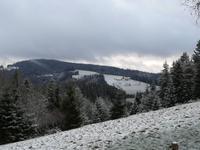 etwas weiße Weihnacht im Schwarzwald