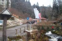 Am Rande der Triberger Wasserfälle