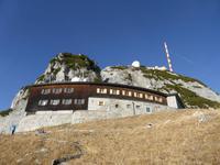 Wendelsteinhaus mit Gipfel