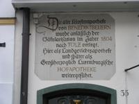 Teil der Klosterapotheke in Bad Tölz