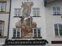Lüftlmalerei in Bad Tölz