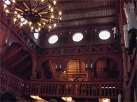 In der Stabkirche von Hahnenklee