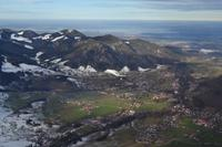 Auf dem Rauschberg bei Ruhpolding - Blick zum Chiemsee und auf Ruhpolding