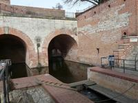 Spandau ist die einzige Zitadelle mit eigenem Hafen...