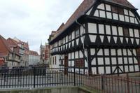 Fachwerkkunst in Quedlinburg