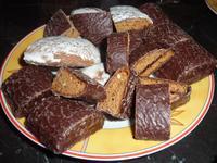 Lebkuchen-Kostproben