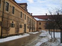 Landgestüt Moritzburg im Winterschlaf