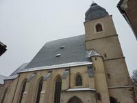 die frisch sanierte St. Petri-Pauli-Kirche in Lutherstadt Eisleben