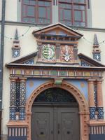 Naumburg, Rathaus, Portal
