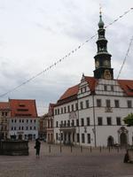 Marktplatz Pirna & Rathaus