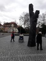 An der Musikhalle in Bamberg