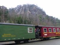 Fahrt mit der Zittauer Schmalspurbahn
