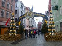 Eingang zum Weihnachtsmarkt in Görlitz