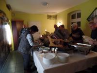 Abendessen im Spreewaldhotel Leipe