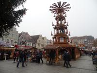 Auf dem Cottbusser Weihnachtsmarkt