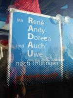 Mit RADAU nach Thüringen!