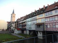 hier ist sie - die Krämerbrücke
