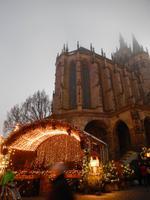 Erfurter Weihnachtsmarkt mit Dom