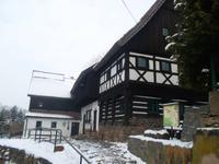 Das Reiterhaus ist eines der ältesten Umgebindehäuser