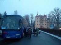 Der Bus ist angekommen: Schloßhotel Althörnitz