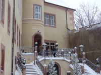 Wolkenburg, Treppenturm Innenhof